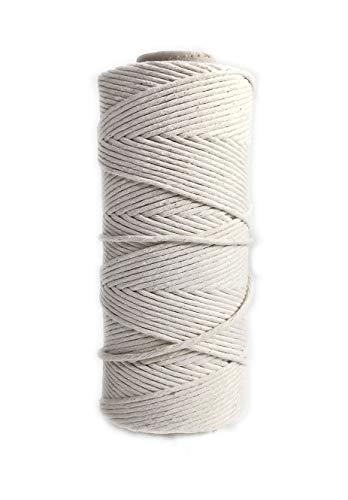 Niroma Studio Bulk Cotton Macrame Cord Craft String Rope - 5mm
