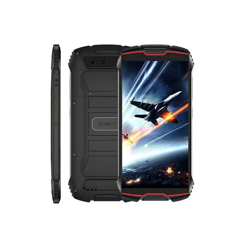 """CUBOT King Kong Mini 2 - Smartphone de 4.0"""" QHD+, 3GB y 32GB, Cámara de 13 MP, Batería de 3000mAh, Android 10, Procesador QuadCore, Color Rojo"""