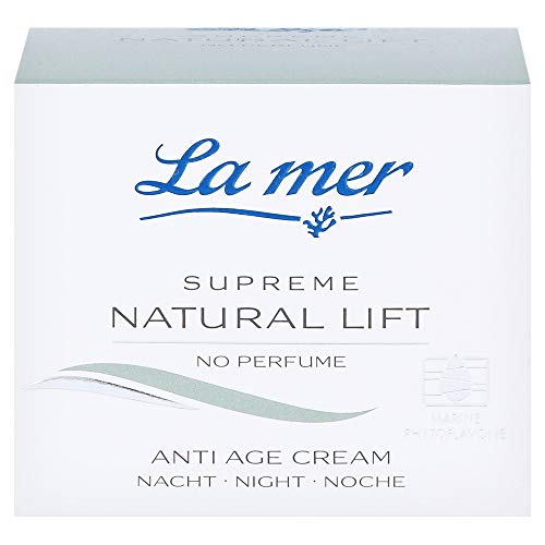 La mer Supreme Natural Lift Anti Age Cream Nacht 50 ml ohne Parfum