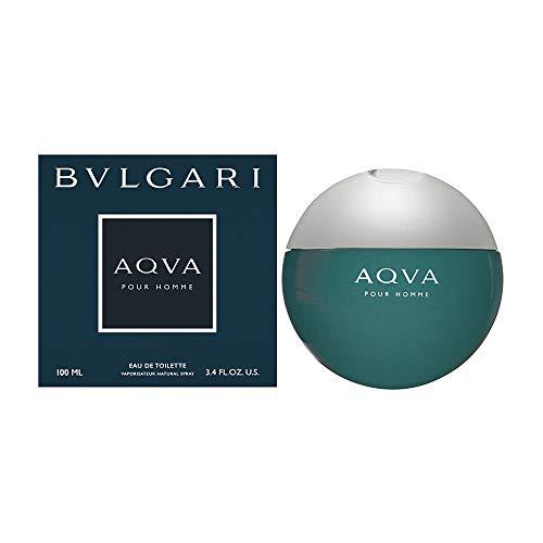 Bvlgari Aqua von Bvlgari für Männer.  Eau de Toilette Spray 3,4 Unzen