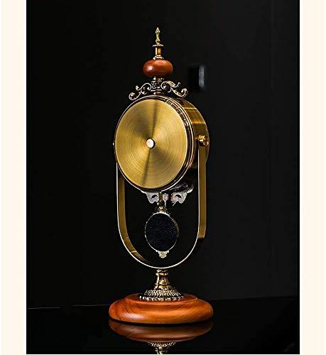 Pendule, antieke Mute Retro Space Ornamenten cijferige Langlauf Home creatieve gaven Tabel Desk Pendulum Clock Decoratieve batterijen,5