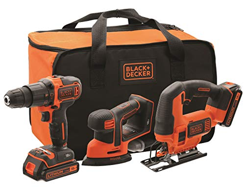 BLACK+DECKER BCK31S1S-QW - Kit de taladro percutor