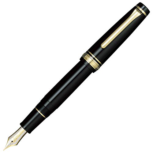Sailor Pen fountain pen professional gear gold fine print 11-2036-220 Black