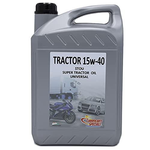 tractor RM15w40 aceite multigrado para motor y la transmisión - 5 Litros - TRACTOR RM15w40 STOU