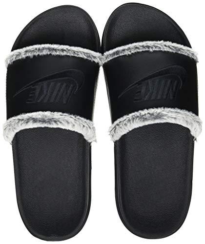 Nike Wmns OFFCOURT Slide LTR, Zapatillas Deportivas Mujer, Negro, 36.5 EU