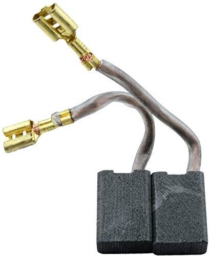 Escobillas de Carbón para ATLAS COPCO WS21-230 E GVX amoladora - 8x14x20mm - 3.1x5.5x7.9