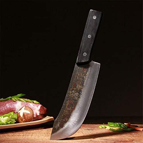 Handgemachte Messer-Küche Metzgerei Rindfleisch Messer Slaughter Spezialmesser Deutsch Wolframstahl-Chef Spezielles Küchenmesser