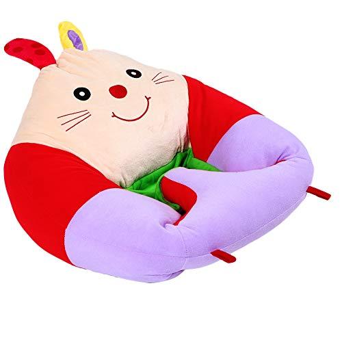 Annjom Kinder gepolsterter Stuhl, verhindern Rollover Costzon Kids Sofa, Schlafzimmer Home Boys für Mädchen(Rabbit)