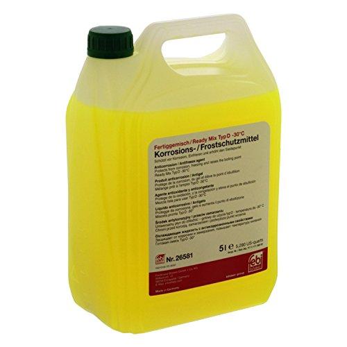 febi bilstein 26581 Frostschutzmittel Ready Mix -30°C , 5 Liter