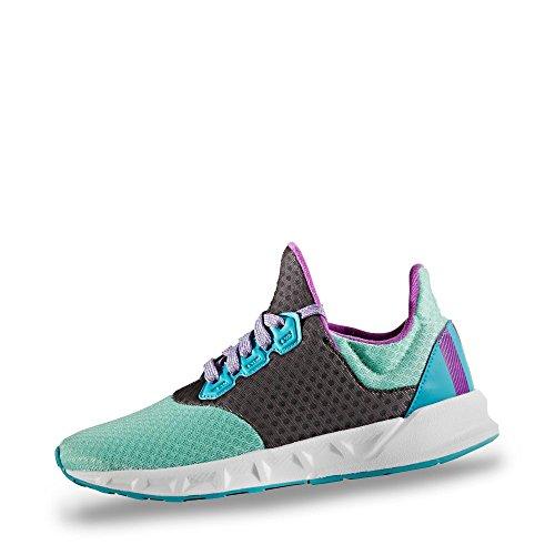 Adidas Falcon Elite 5 xj, Zapatillas de Running Unisex Adulto, Multicolor (Multicolor/(Versen/Pursho/Azuene) 000), 40 EU