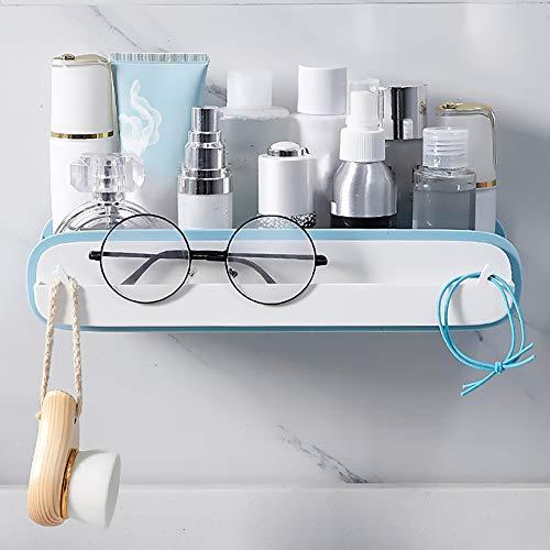 GCWA Badkamerrek, wand-doorslagvrije keuken kaptafel cosmetisch bewaarbakje, brillenkoker handdoekwarmers 6 x 29 x 9 cm