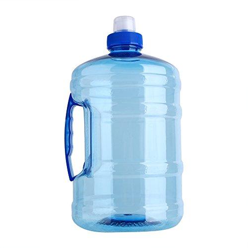 Tianhaik Bicchiere da 2 Litri per Acqua Potabile per Allenamento Sportivo con Tazza per Bollitore con Manico per Arrampicata da Campeggio