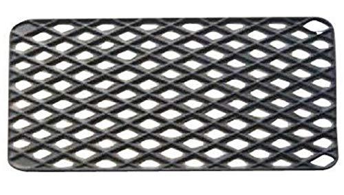 PEGANE Tapis Gratte-Pieds extérieur en Caoutchouc Coloris Noir - Dim : 33 x 56 cm