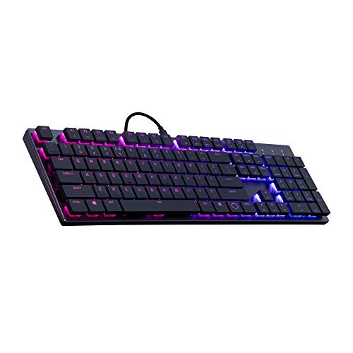Cooler Master SK650 Tastatur, schwarz SK-650-GKLR1-DE