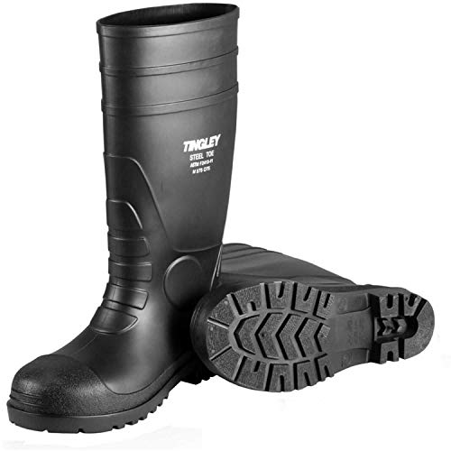 TINGLEY Men's PVC Steel Toe 15' Knee Boot