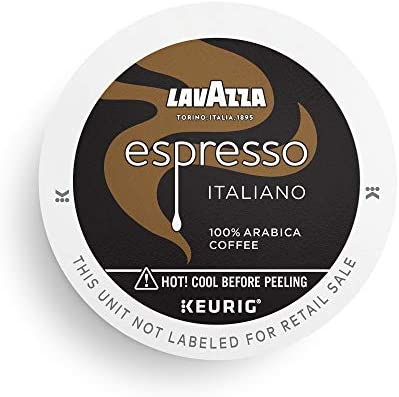Lavazza Perfetto Single Serve Coffee K Cups for Keurig Brewer Pack of 1 Espresso Italiano 32 product image