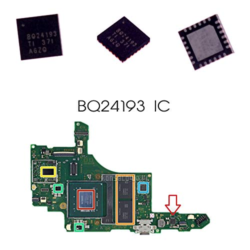 BQ24193 (BQ24193RGET) Battery Management Charging IC Chip Replacement for Nintendo Switch Motherboard