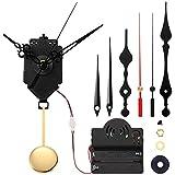 Uniquk Reloj con Gatillo de PéNdulo de Cuarzo, Movimiento, Timbre, Mecanismo de MelodíA de Westminster, Kit de Reloj con 3 Pares de Manos
