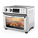 Geek Chef 16-in-1 Air Fryer Toaster Oven Combo, 12 Quart Countertop Convection Airfryer with Rotisserie and Dehydrator, Oil-Free, Include 8 Cooking Accessories and Recipe Book
