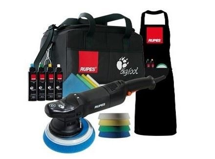 Rupes LHR21ES Deluxe Bigfoot Polisher + Kit