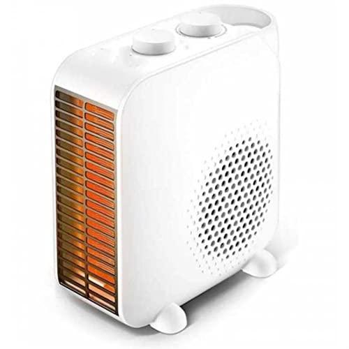 WGLL Calentadores eléctricos Mini calentador de ventilador,hogar ahorro de energía Tabla interior Calentador portátil Calentadores silenciosos Empleo de control de temperatura,for hogar,oficinas,cober