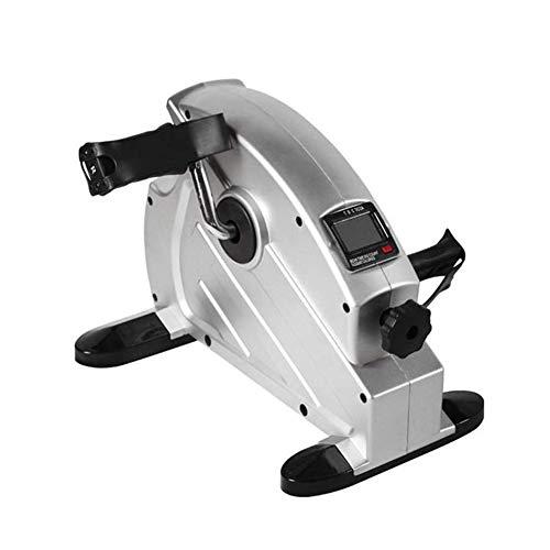 YOUGL Mini-Bike, Heimtrainer für stationäre Übungen, Trainingspedale für sitzendes Bein- und Armtraining mit LCD-Display, Fitness-Reha-Fitnessgeräte für Senioren und ältere Menschen