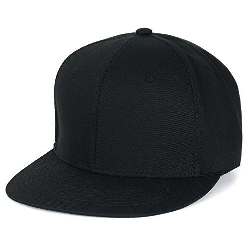 ililily Extra Large Big Size Snapback New Era Style Blank Hat Baseball Cap (ballcap-1443-2)