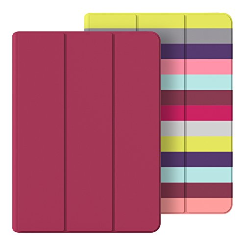 Belkin Reversible Case and Cover for iPad Air 2, Pink Stripe (F7N313btC00)