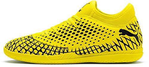 Puma Future 4.4 It, Chaussures de Futsal Homme, Jaune (Yellow Alert-Puma Black 03) , 40.5 EU