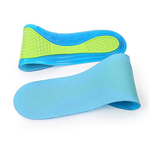 Massaging Gel Insoles Replace for Ultimate Comfort Cut-to-Size Massaging Gel...
