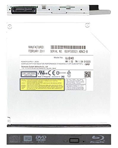 Panasonic UJ240 6x Blu-ray Burner BD-RE/8x DVD±RW DL SATA Drive (Black)