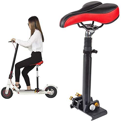 Cojín de asiento para scooter eléctrico, asiento plegable, patinete eléctrico, monopatín, sillín...