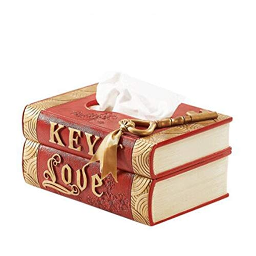 ZJHDX Rechthoekige Tissue Box Cover, Decoratieve Toliet Papieren Doos, Servet Houder, Gezichtsweefsel Houder Voor Badkamer/Dresser/Nacht Stand/Bureau/Tafel