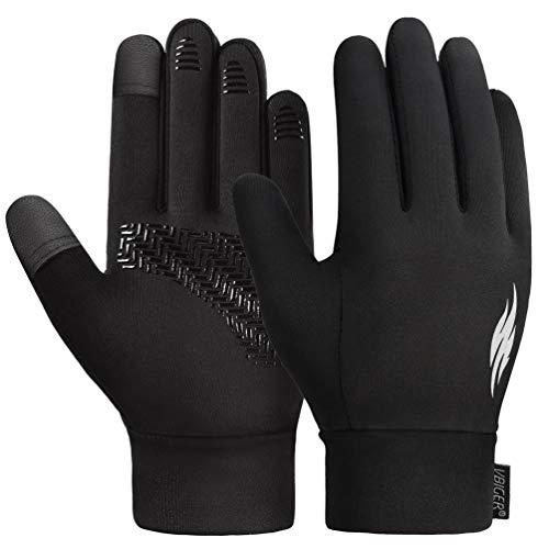 VBIGER Handschuhe Jungen Kinderhandschuhe Winter Touchscreen Anti-Rutsch Fahrradhandschuhe für Klein Jungen und Mädchen 6-8 Jahren