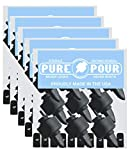 Pour Spouts and Universal Bug Caps | Liquor Pourers with Rubber Dust Caps for Alcohol Bottles, Olive Oil, Syrup, Balsamic Vinegar and More (50 Pack of Pour Spouts) balsamic vinegars May, 2021