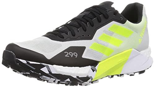 adidas Terrex Agravic Ultra Scarpa Running da Trail per Uomo Grigio Giallo 49 1/3 EU