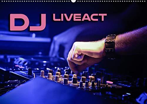 DJ Liveact (Wandkalender 2021 DIN A2 quer)