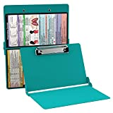 WhiteCoat Clipboard- Teal - Respiratory Edition