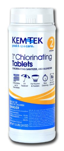 Kem-Tek 2815-6 Chlorinating Tablets...