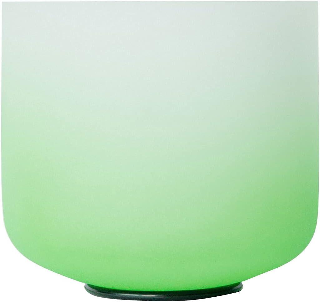 Cuenco, Cristal 8-12 Pulgadas 432Hz Cuenco de Sonido G Nota Raíz Chakra Bowl, Cuenco de Cristal Sana curación para la meditación Yoga (Size : 10in)