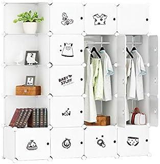 Cubic Closet, White, H38 x W48.5 x D25.5 cm