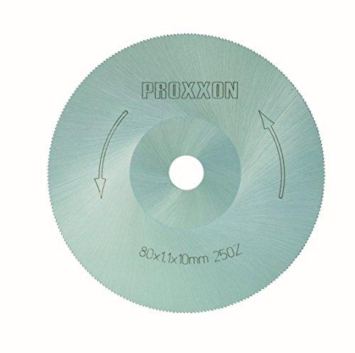 Proxxon 28730 Kreissägeblatt (Sägeblatt), Ø 80mm, 250 Zähne-für besonders Schnitte, extrem fein verzahnt