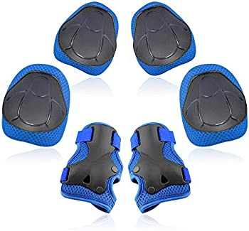 Yoreeto 3 in 1 Knee Protective Gear Set Knee Pads