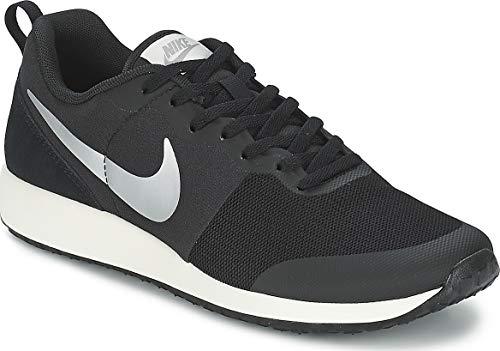 Nike Damen WMNS Elite Shinsen Turnschuhe, Black (Schwarz/Metallic Silver-Segel), 36 1/2 EU