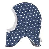 Lilakind Gorro para bebé con diseño de estrellas, color azul vaquero, azul vaquero, 3-6 Meses