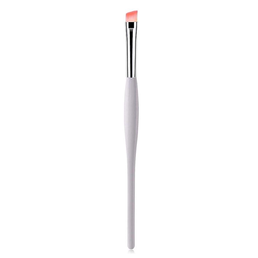 シフト広げる肥満1ピース化粧ブラシアングルアイライナー眉ブラシ - ポータブルアイパウダープライマーブラシ プロと旅行のための化粧品美容ツール