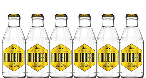 Goldberg - Tonic Water 6er-Set - 6x0,2l inc. 0,90€ MEHRWEG Pfand