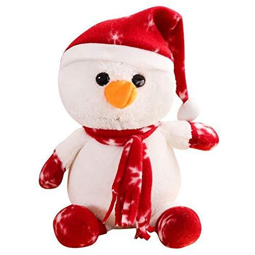 1 Unid Navidad Juguetes Mimados, Muñeco De Nieve Peluche, Almacenamiento E Invierno Bolsa De Bolsas De Fiesta para Niños Adulto
