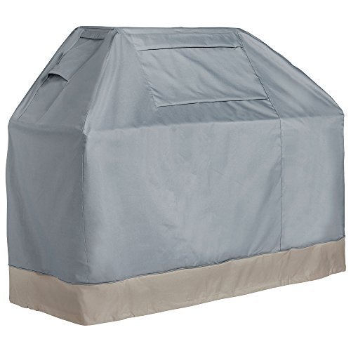 """VonHaus 60"""" BBQ Cover - 'The Storm Collection' Premium Heavy Duty Waterproof Outdoor Barbecue Grill Protection"""