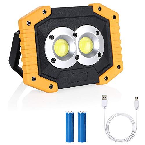 Flintronic Foco LED Recargable COB Luz Trabajo Portátil
